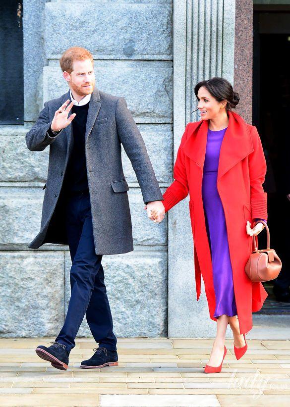 Герцогиня Сассекская Меган и принц Гарри
