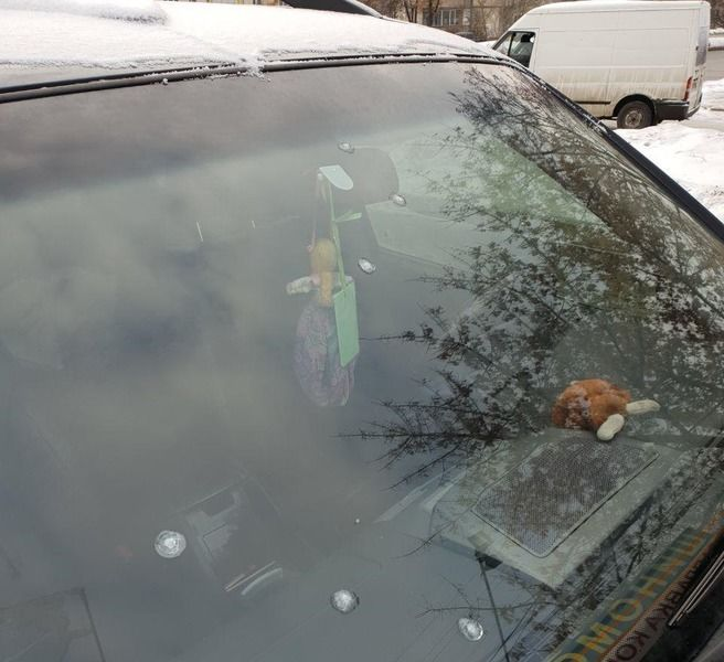 обстріляли авто працівників штабу Гриценка