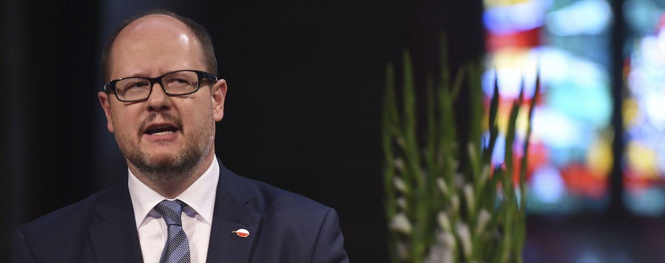 Вбивство мера Гданська: нападника посадили у СІЗО