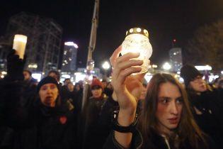 """""""Стоп ненависть"""". В Польше тысячи людей почтили память погибшего мэра Гданьска"""