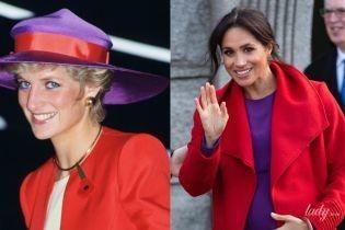 Подражает свекрови: герцогиня Сассекская опять скопировала образ принцессы Дианы
