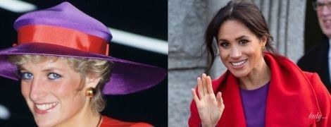 Наслідує свекруху: герцогиня Сассекська знову скопіювала образ принцеси Діани