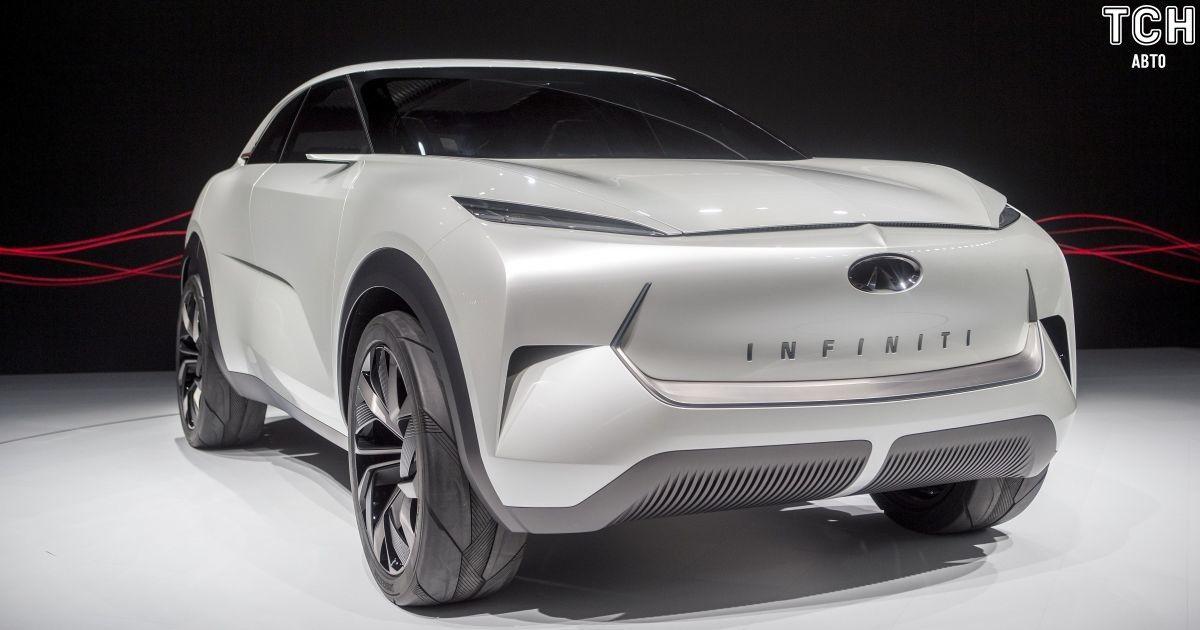 Infiniti представила перший електрокар бренду