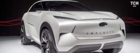 Infiniti представила первый электрокар бренда