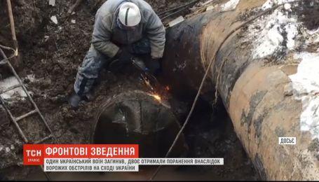 Несмотря на обстрелы удалось восстановить подачу воды к прифронтовому Торецку