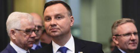 Після вбивства мера Гданська смертельні погрози надійшли президентові Польщі