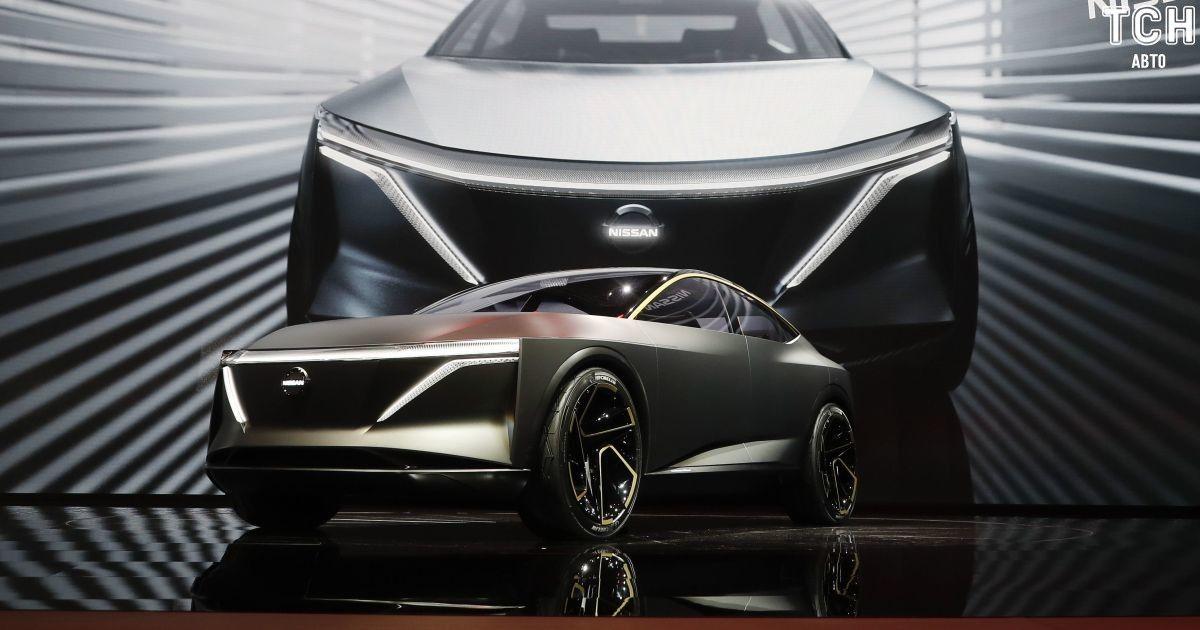 Nissan представил смесь седана и кроссовера на электричестве