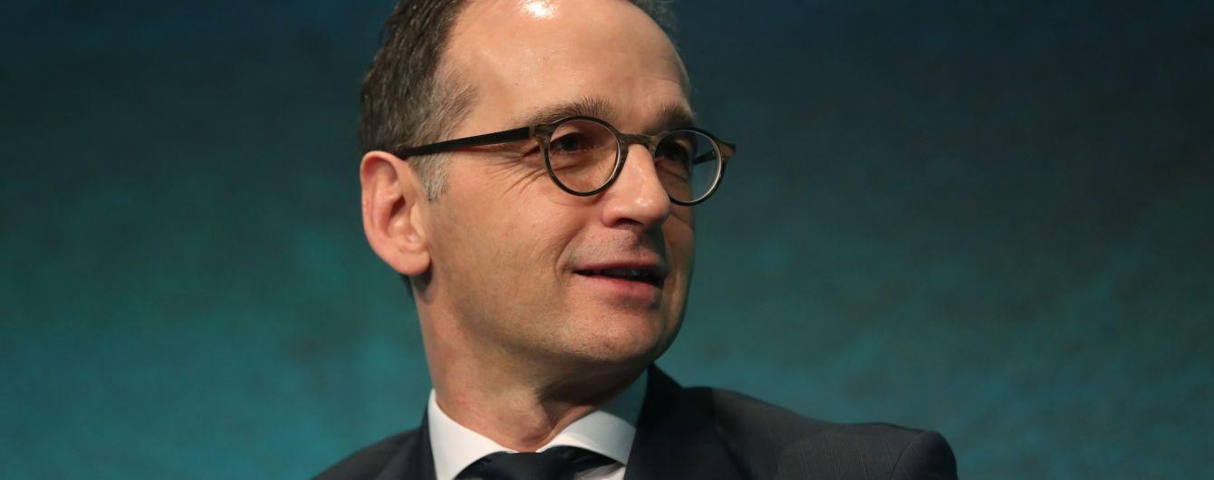 """Голова МЗС Німеччини привітав погодження """"формули Штайнмаєра"""""""