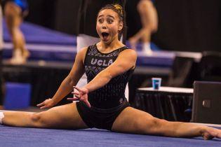 """30 миллионов за два дня. Зажигательное выступление американской гимнастки """"разрывает"""" Twitter"""