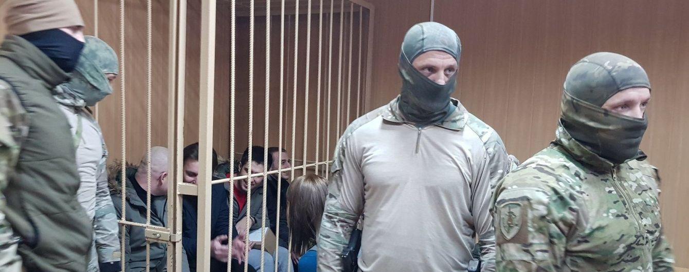 Московський суд продовжує розглядати справу полонених українських моряків