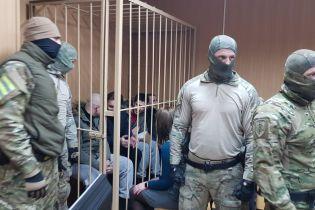 Продление ареста украинским морякам обжалуют в Европейском суде