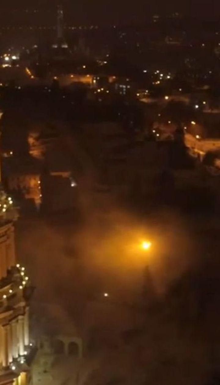 Поліція кваліфікує пожежу у Києво-Печерській Лаврі як умисний підпал