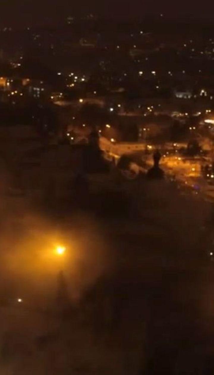 Полиция квалифицирует пожар в Киево-Печерской Лавре как умышленный поджог