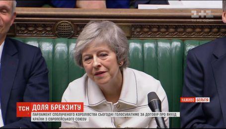У Великій Британії проходять дебати щодо угоди з ЄС про Brexit