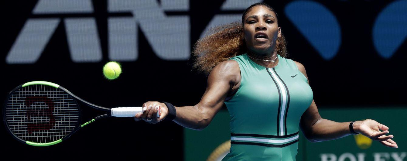 Серена Вільямс шокувала фанатів оригінальним вбранням на Australian Open