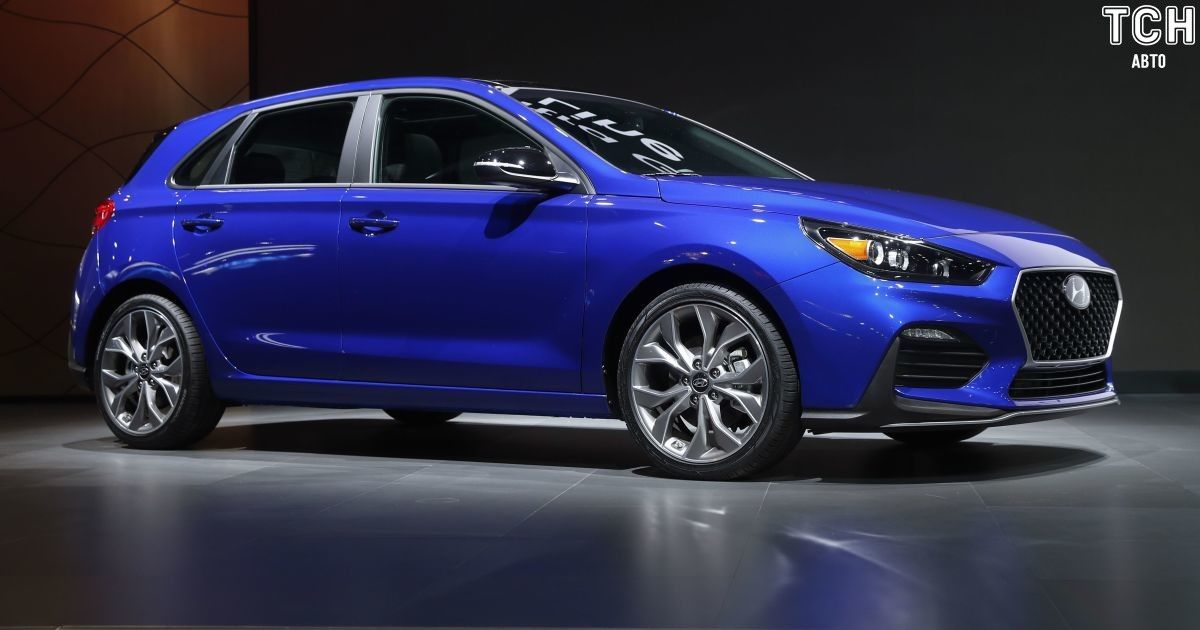 Hyundai представила спортивну версію хетчбека Elantra