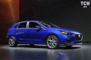 Hyundai представила спортивную версию хэтчбека Elantra