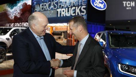 Ford и Volkswagen рассказали о совместном создании электрокаров и беспилотников
