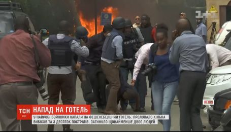 В столице Кении боевики напали на отель, два человека погибли