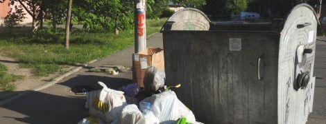 В Днепре украли мусорные контейнеры, чтобы в них квасить капусту и солить арбузы