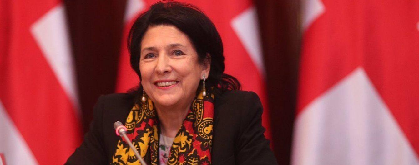 """""""Не могу обострять ситуацию"""": президент Грузии объяснила, почему не поздравляет Украину с Томосом"""