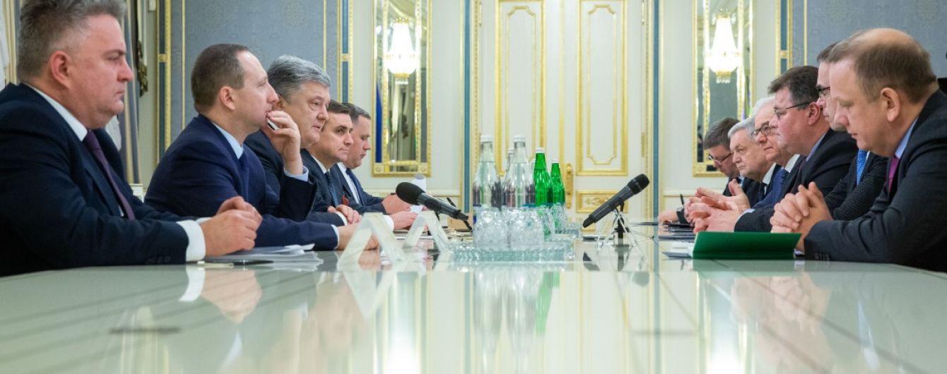 Президент встретился с министрами иностранных дел Эстонии, Литвы и Польши