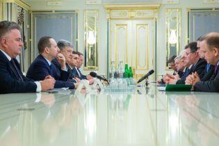Президент зустрівся з міністрами закордонних справЕстонії, Литви та Польщі