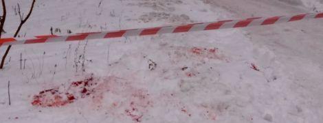 Появилось видео с харьковским копом в первые минуты после громкого покушения на него