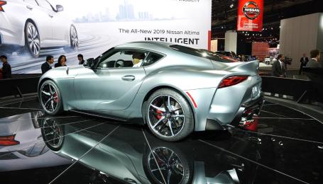 Спорткар Toyota Supra поступит в продажи за $50 тысяч