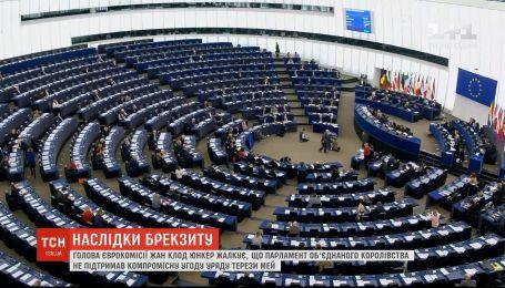 Юнкер заявил, что риск неконтролируемого Brexit вырос