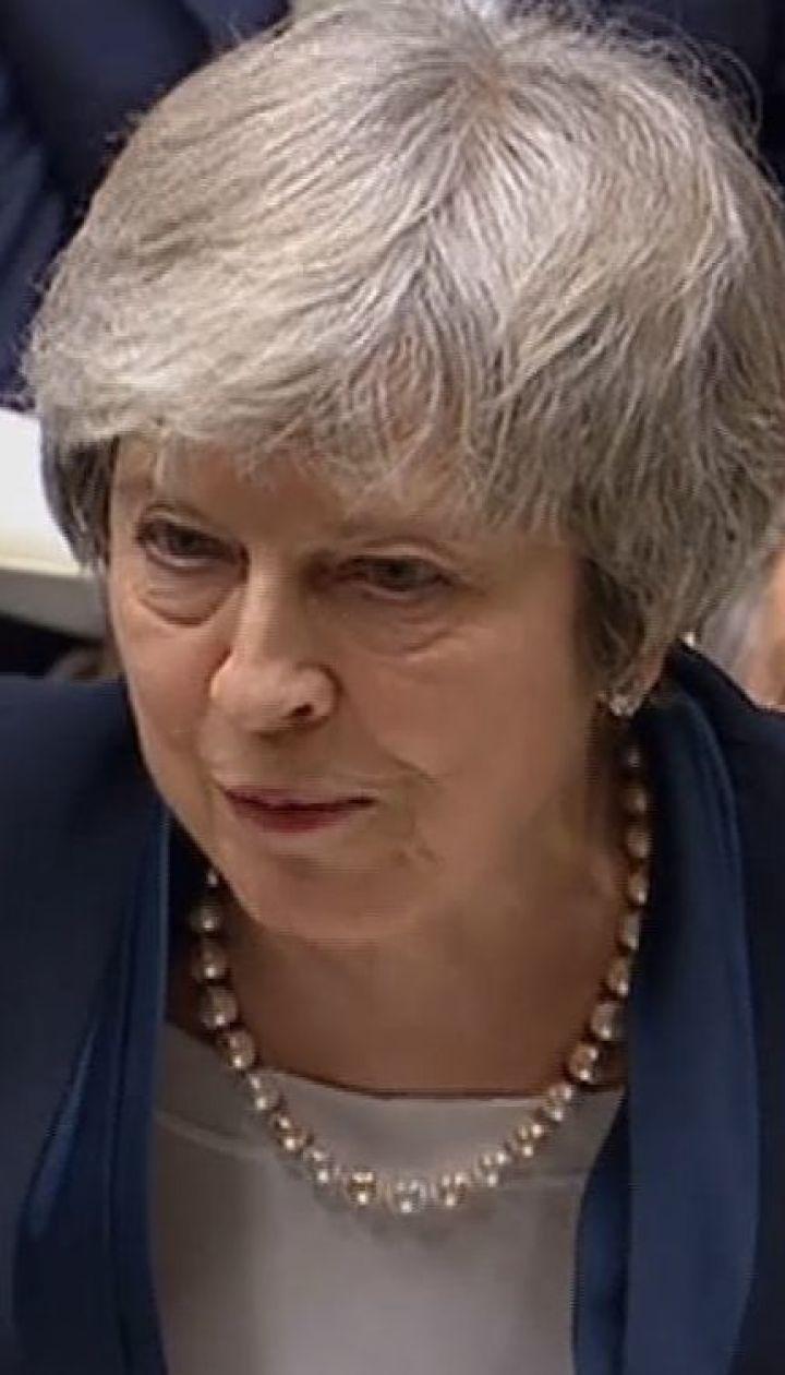 Brexit: парламент не підтримав угоду про вихід з ЄС