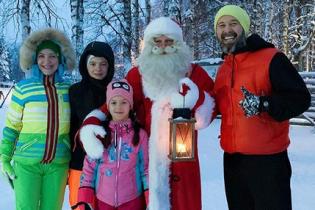 Санта-Клаус, крижаний палац і хаскі: Сергій Бабкін розповів, як з родиною відпочив у Лапландії