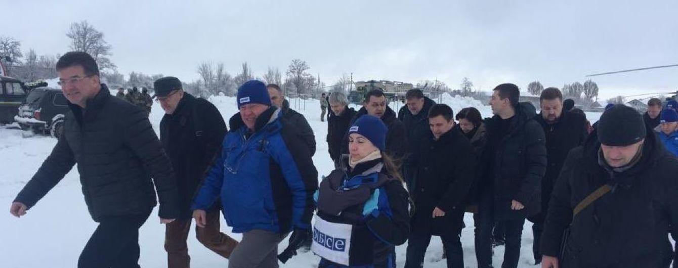 Руководитель ОБСЕ приехал с Климкиным на Донбасс