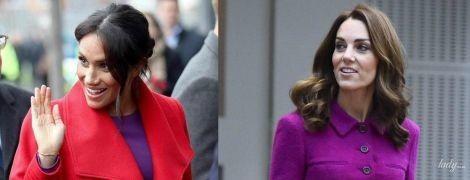 Битва ярких образов: герцогиня Кейт vs герцогиня Меган