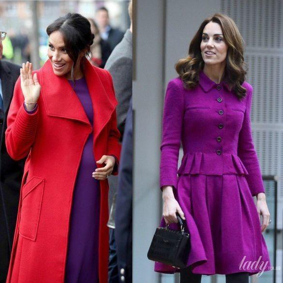 Герцогиня Меган и герцогиня Кейт