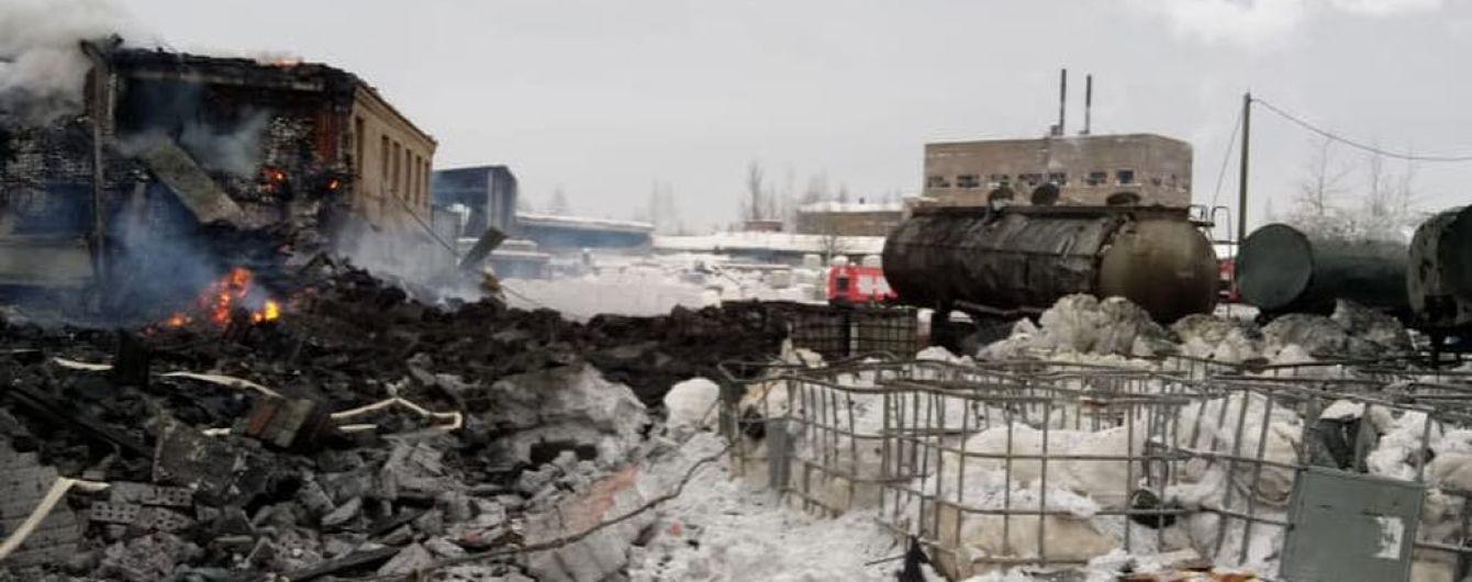 В России произошел мощный взрыв на заводе. Есть пострадавшие
