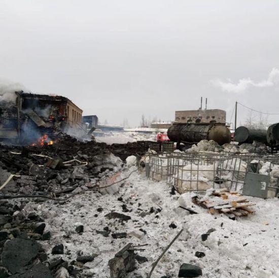 В Росії стався потужний вибух на заводі. Є постраждалі