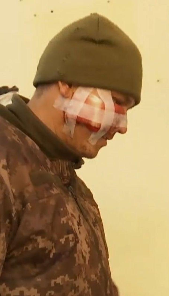 Боевики обстреляли грузовик с украинскими бойцами, есть раненые