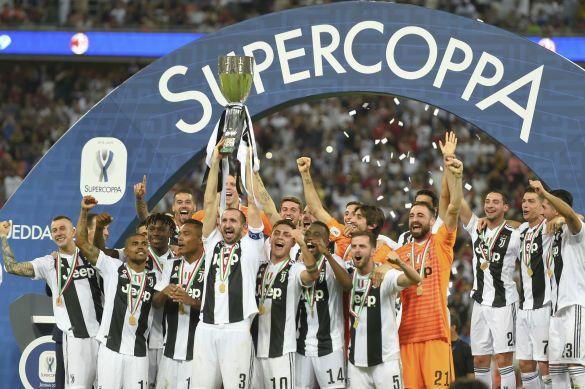 Ювентус володар суперкубка італії