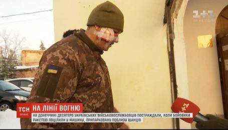 Угрозы жизни бойцам, раненым во время обстрела боевиками грузовика, нет