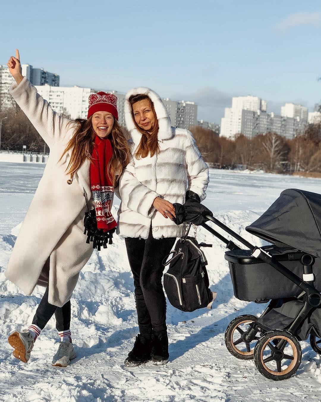 Регіна Тодоренко з мамою Іриною