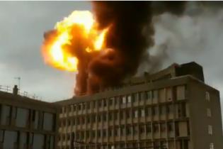 В университете Лиона произошел мощный взрыв