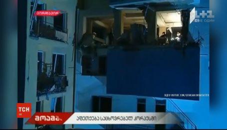 Четыре человека погибли в результате взрыва газа в многоэтажке в Тбилиси