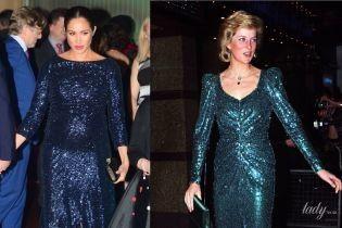 Битва вечерних образов: герцогиня Сассекская vs принцесса Диана