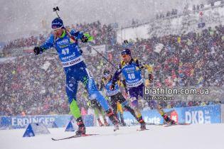 Норвежец Бьо стал победителем спринта в Рупольдинге, Пидручный показал лучшее время среди украинцев