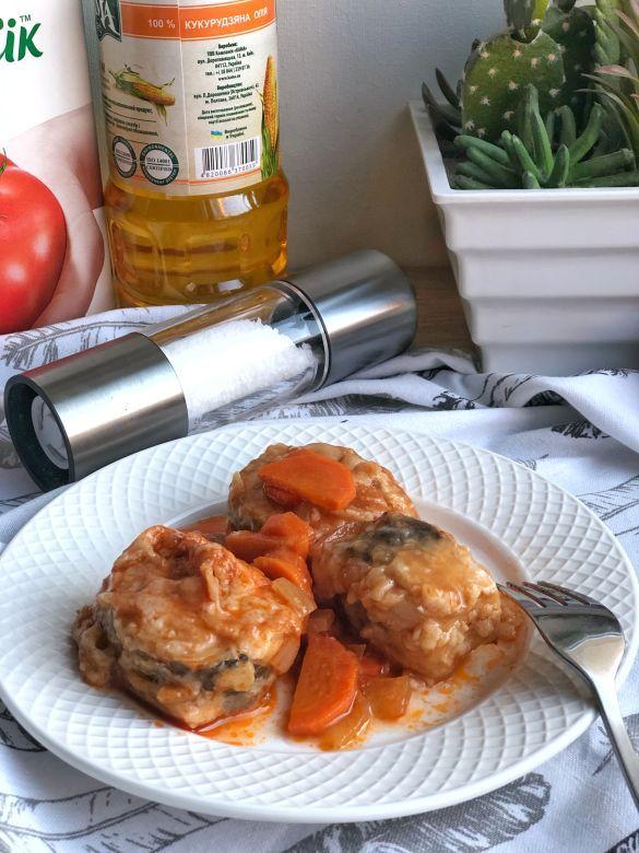 Риба в томатному соусі, для блогів