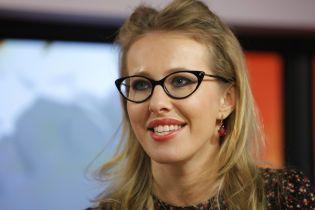 """""""Никакой политики"""": Собчак рассказала, почему приехала в Киев"""