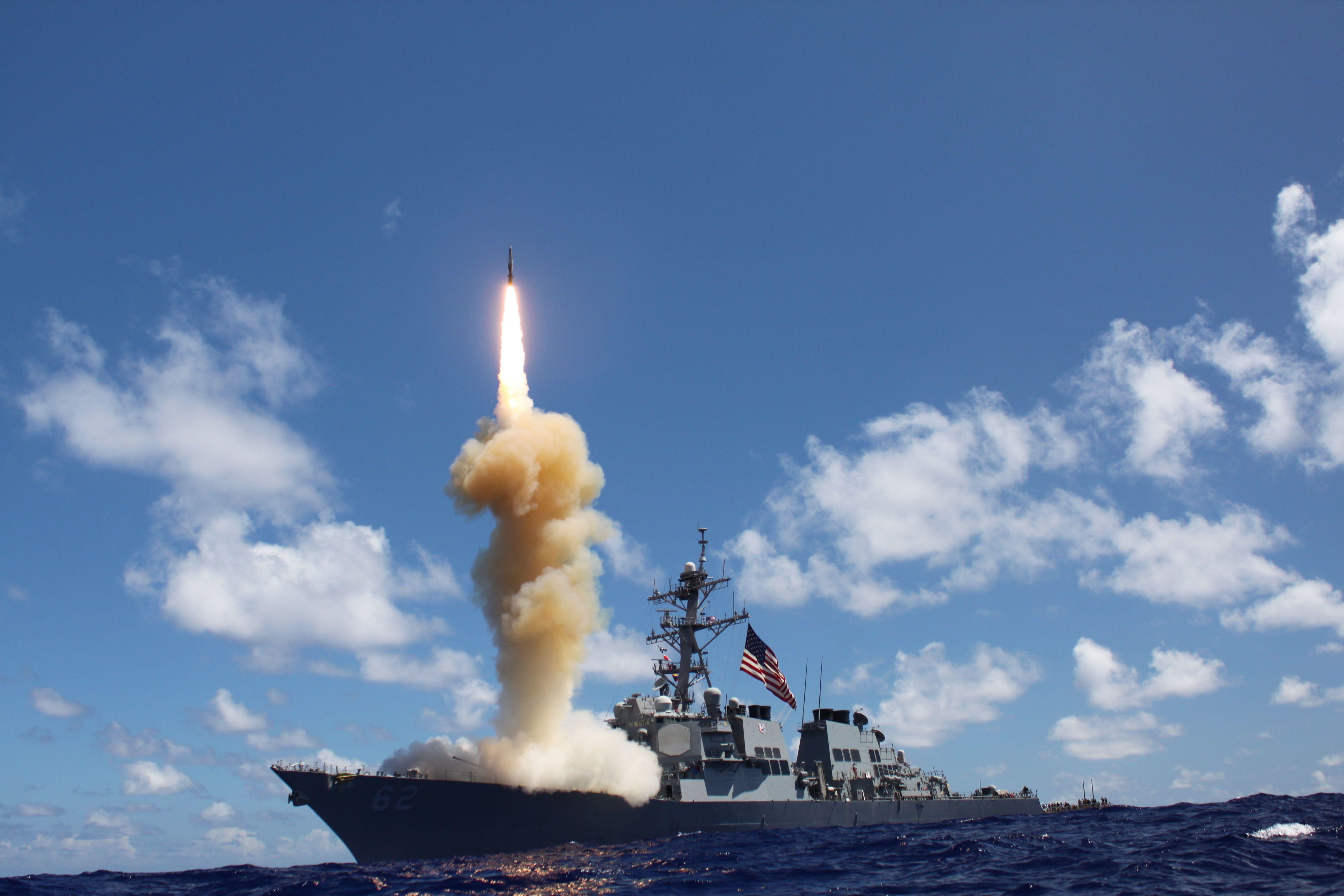 Випробування ракети SM-3 (ілюстративне фото)