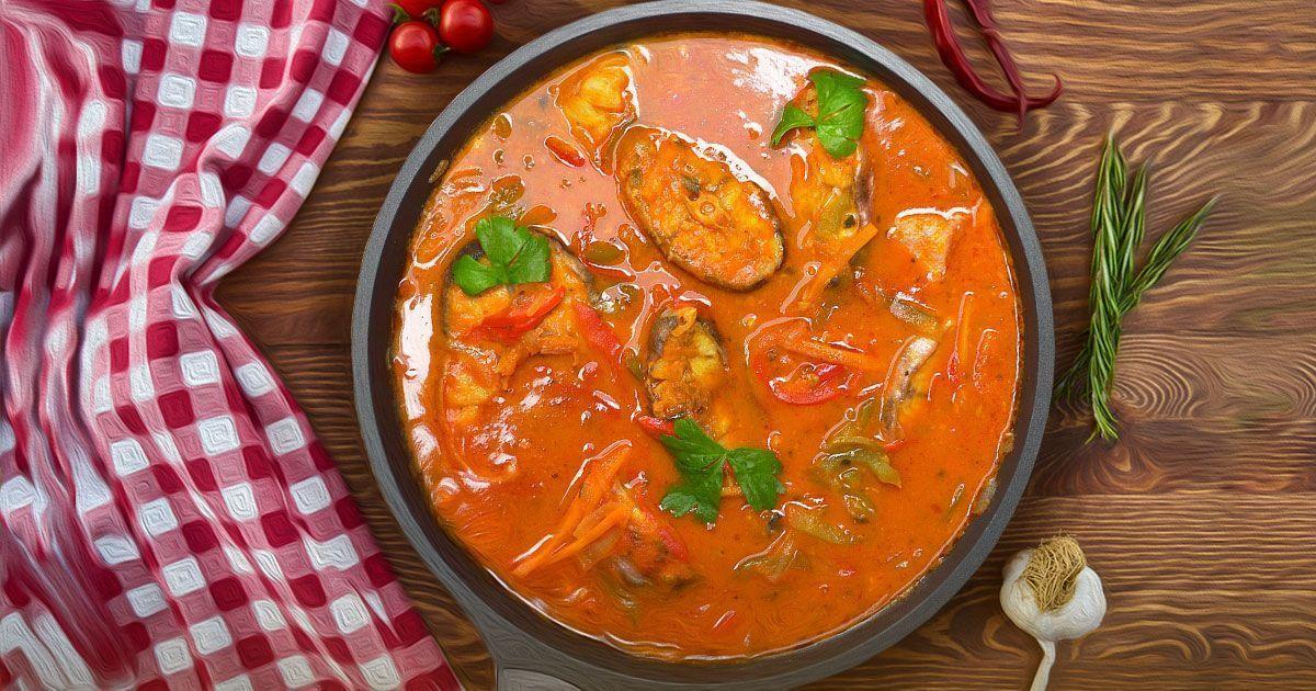 Вкуснейшая рыба в томатном соусе