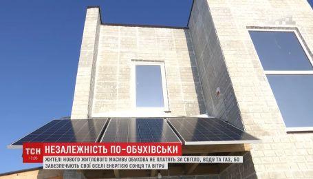 Жители новостроек в Обухове обеспечивают свои дома энергией солнца и ветра